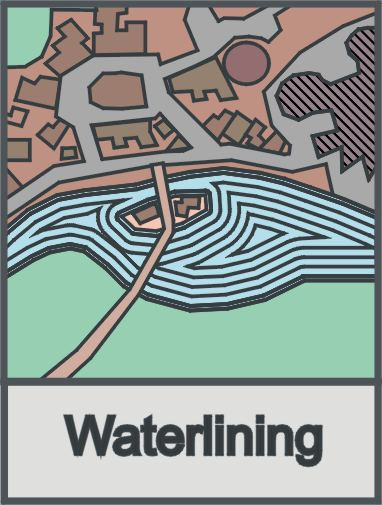A symbology of waterlining